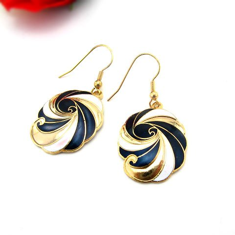 EBK-8005     Cloisonne Earrings