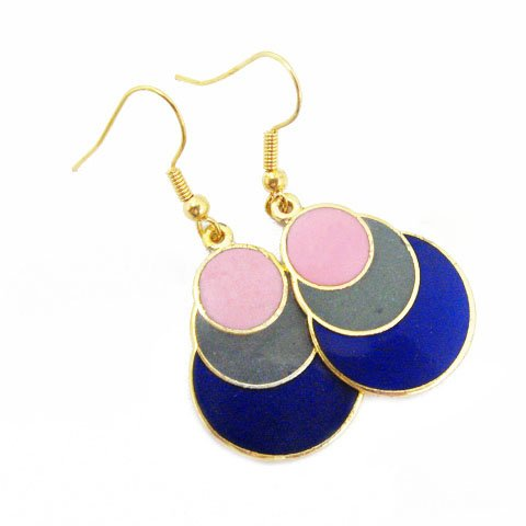 EBK-8002     Cloisonne Earrings