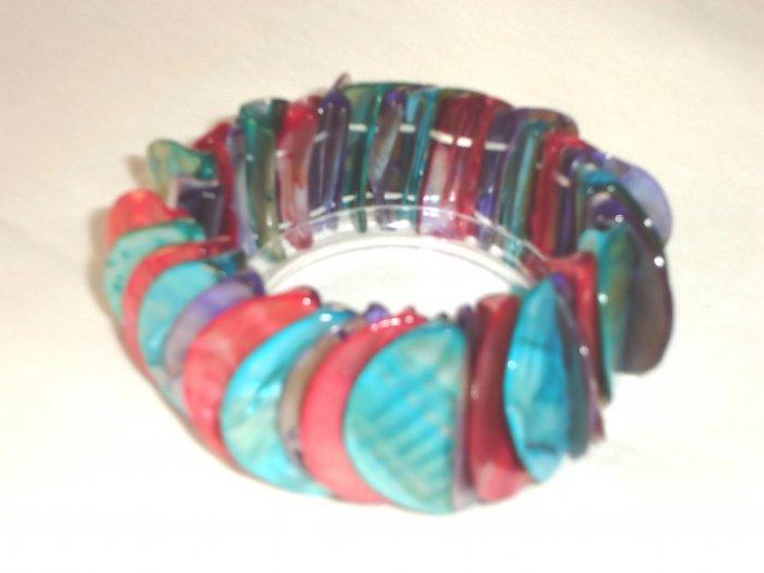 BHX-6042   Natural Shell Bracelet