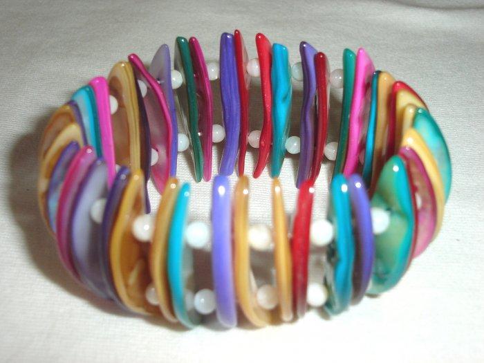 BHX-6001  Natural Shell Bracelet