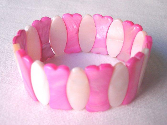 BHX-6010      Natural Shell Bracelet
