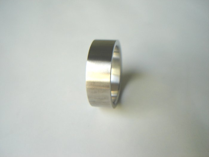 Free shipping--Stainless Steel Wedding Band Ring.