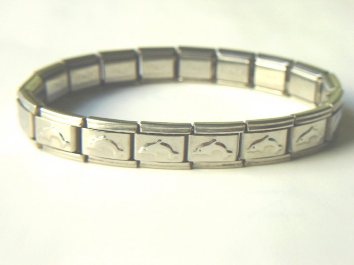 Free shipping--Stainless Steel Stretch Bracelet 4pcs/Lot
