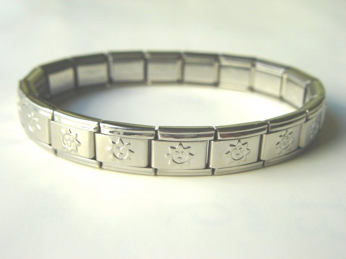 Free shipping--Stainless Steel Stretch Bracelet 4 Pcs/Lot