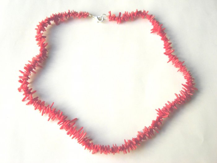 NCL-8015     Coral  Necklace