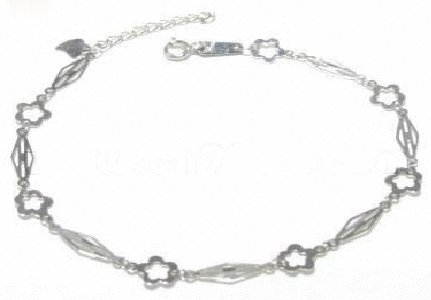 Free shipping---Sterling Silver Bracelet