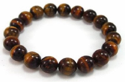 Free shipping-- Tiger Eye Stone Bracelet