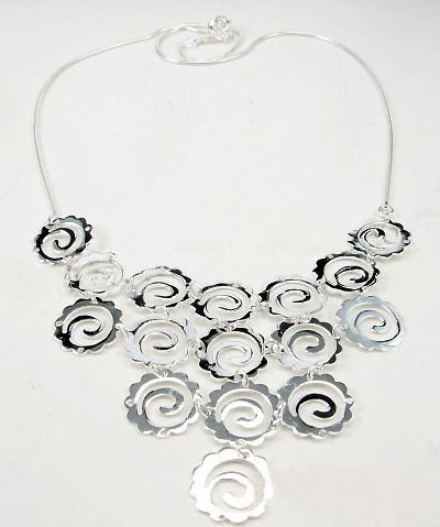 Free shipping--Sterling Silver Necklace