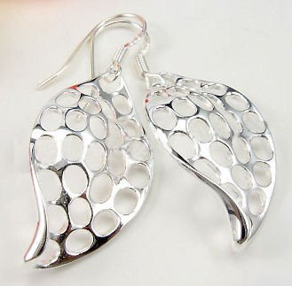 Free shipping--Sterling  Silver Earrings