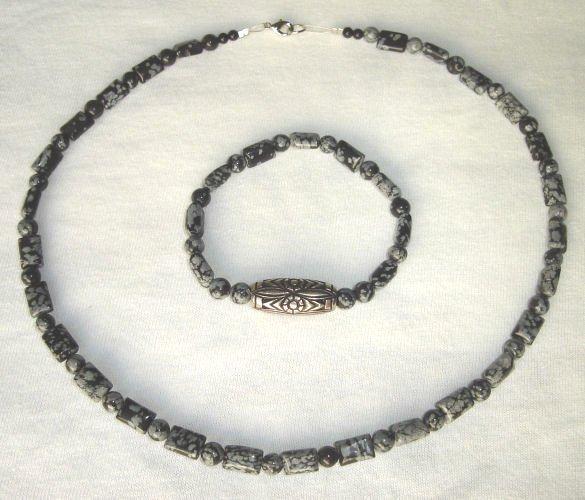 HDNB-8001 Snowflake Stone Jewelry set