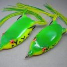 Soft Plastic Frog Baits by 6pcs/Lot