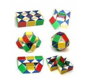 Free shipping---Deformation Blocks Puzzle Magic Stick 6 pcs/lot