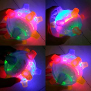 Free shipping__Flashing Jumping Ball--10 pcs/lot