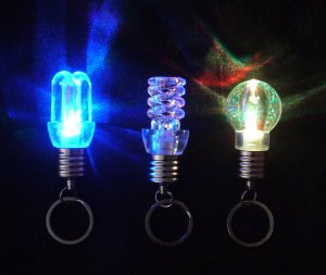 Free shipping---100 pcs/lot flashing  multi-color rotating LED bulb Christmas tree ornaments
