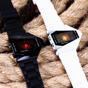 Free shipping--2 pcs/lot Fashion novelty B-2 Spirit shape Led watches