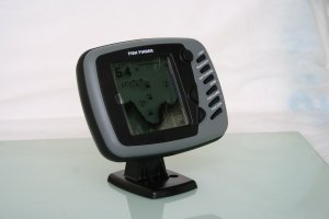 """Free shipping---4"""" Sonar Fish Finder for Bait Boat with fishing alarm"""