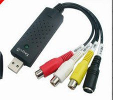 Free Shipping---EasyCAP USB2.0 Video Adapter with Audio