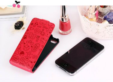 Free shipping_iphone 4 4s case little witch cellphone cover skin