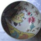 Vintage Tobacco Leaf Fine China Bowl Seymour Mann Japan beautiful elegant