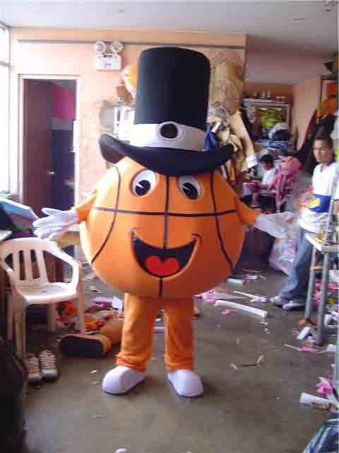 Basketball Mascot Costume Adult Costume