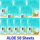 Aloe Ultra hydrating essence mask pack 50 sheets