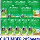 Cucumber Ultra hydrating essence mask pack 20 sheets