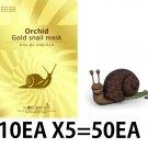 Gold snail Mask sheet pack 10EAX5=50EA