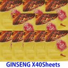Ginseng face mask pack 40 sheets