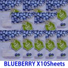 Blue berry face mask pack 10 sheets