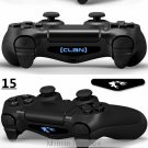 Cool Light Bar Sticker Decal Led For PlayStation 4 PS4 Controller FOR DualShock 4 4 choices