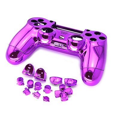Plating PS4 Controller Case Replacement Parts for PS4 Controller 6 colors to choose
