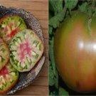 HEIRLOOM NON GMO Black Belgium/Pineapple Tomato 25 seeds