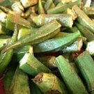 HEIRLOOM NON GMO Egyptian Okra 25 seeds