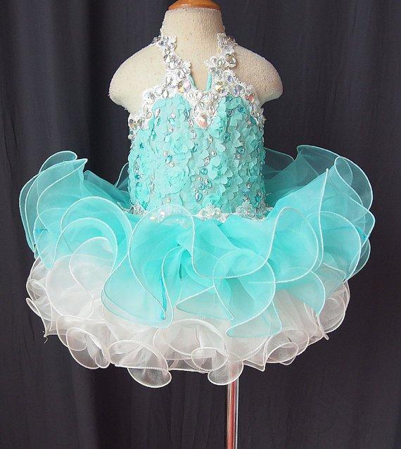 Lafinefashion flowers girl dress for wedding party N1508021402