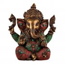 Large Statue Ganesha Ganesh God Elephant Hindu Deity Lord Figurine Sculpture