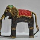 Large beautiful BRONZE elephant statue sculpture figurine home decor India art