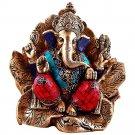 Large Ganesh Ganesha Statue Hindu Elephant Lord of Success Sculpture Figurine Nw