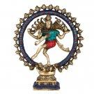 Nataraja Shiva Statue Lord Dancing Hindu Brass Figure God Figurine Natraj stone