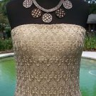 Cache $168 EVENT DRESS NWT REMOVABLE STRAP LACE LINED M/L/XL 6/8/10/12/14 STRETC