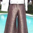 Cache $118 TEXTURED CROP GAUCHO Pant NWT 0/2/4/6/8/10/12 XS/S/M/L POLY LINEN