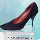 Donald Pliner $255 COUTURE SUEDE LEATHER Shoe Pump NIB SIGNATURE 6.5 7.5