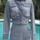 Cache Denim $118 JACKET TOP NWT 0/2/4/6/8/10/12 Dress UP or DOWN Wear ALL YEAR