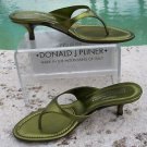 Donald Pliner $200 COUTURE METALLIC LEATHER Shoe Sandal NIB FLEXIBLE SOLE 6 6.5