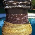 Cache $68 SEQUINED BEADED BELT SCARP 4 COLORS TO CHOOSE FROM Top Pant NWT