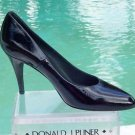 Donald Pliner $275 COUTURE ANTIQUE PATENT LEATHER Shoe NIB PUMP FLEXIBLE SOLE