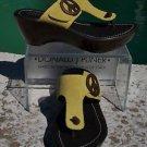 Donald Pliner COUTURE $245 PEACE SUEDE LEATHER Shoe NIB PLATFORM BASE NON-SKID