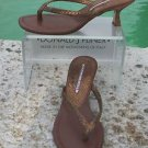 Donald Pliner $215 COUTURE METALLIC PITONE SNAKE LEATHER Shoe Sandal NIB THONG 6