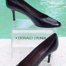 Donald Pliner $250 COUTURE PATENT LEATHER Shoe NIB PEEP-TOE PUMP FLEXIBLE SOLE