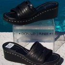 Donald Pliner COUTURE $275 VACHETTA LEATHER Shoe NIB 10.5 RUBBER SOLE SLIDE