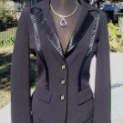 Cache $228 TUXEDO SILK TRIM Top JACKET NWT 0/2/4/6/8 LINED CLASSIC DRESS UP OR
